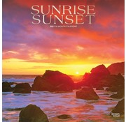 Browntrout Sunrise Sunset Kalender 2021