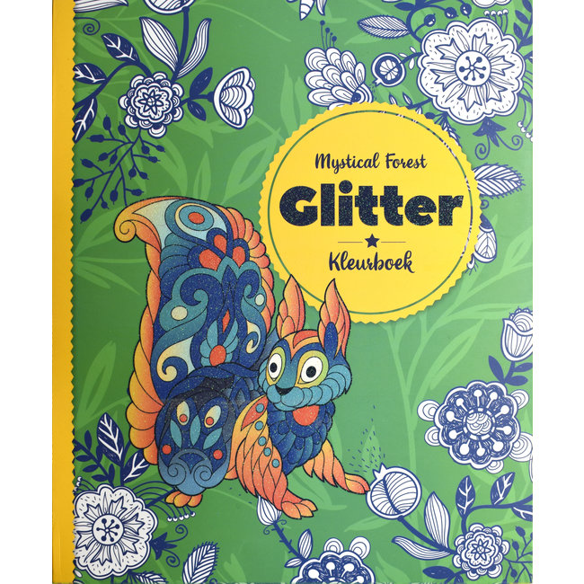 Inter-Stat Mystical Forest Glitter Coloring