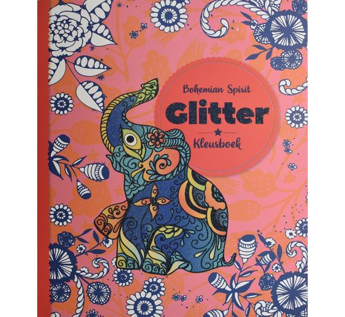 Inter-Stat Bohemian Spirit Glitter Kleurboek