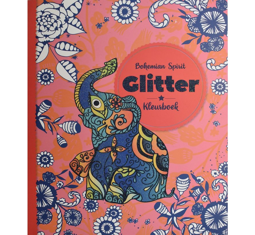 Bohemian Spirit Glitter Kleurboek
