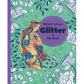 Inter-Stat Mythical Creatures Glitter Kleurboek