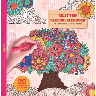 Inter-Stat Forest Glitter Kleurplatenboek