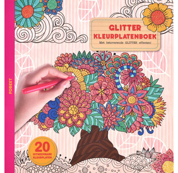 Inter-Stat Forest Glitter Coloring Book