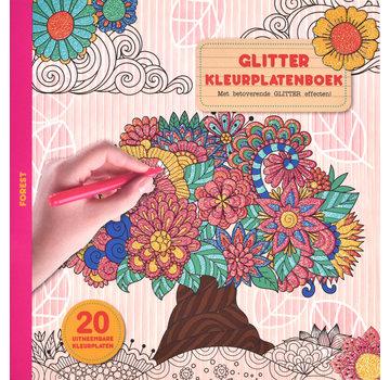Inter-Stat Forêt Glitter Coloring Book