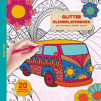 Inter-Stat Road Trip Coloring Book