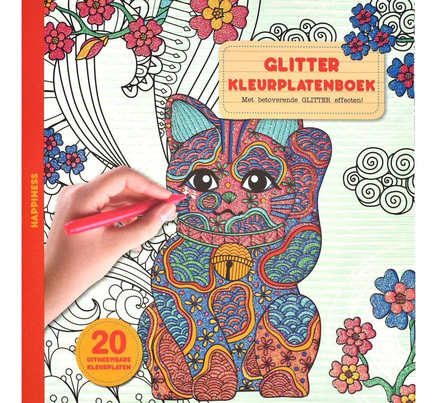 Happiness Kleurplatenboek