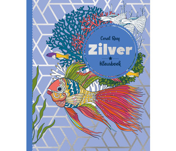 Inter-Stat Coral Reef Zilver Kleurboek