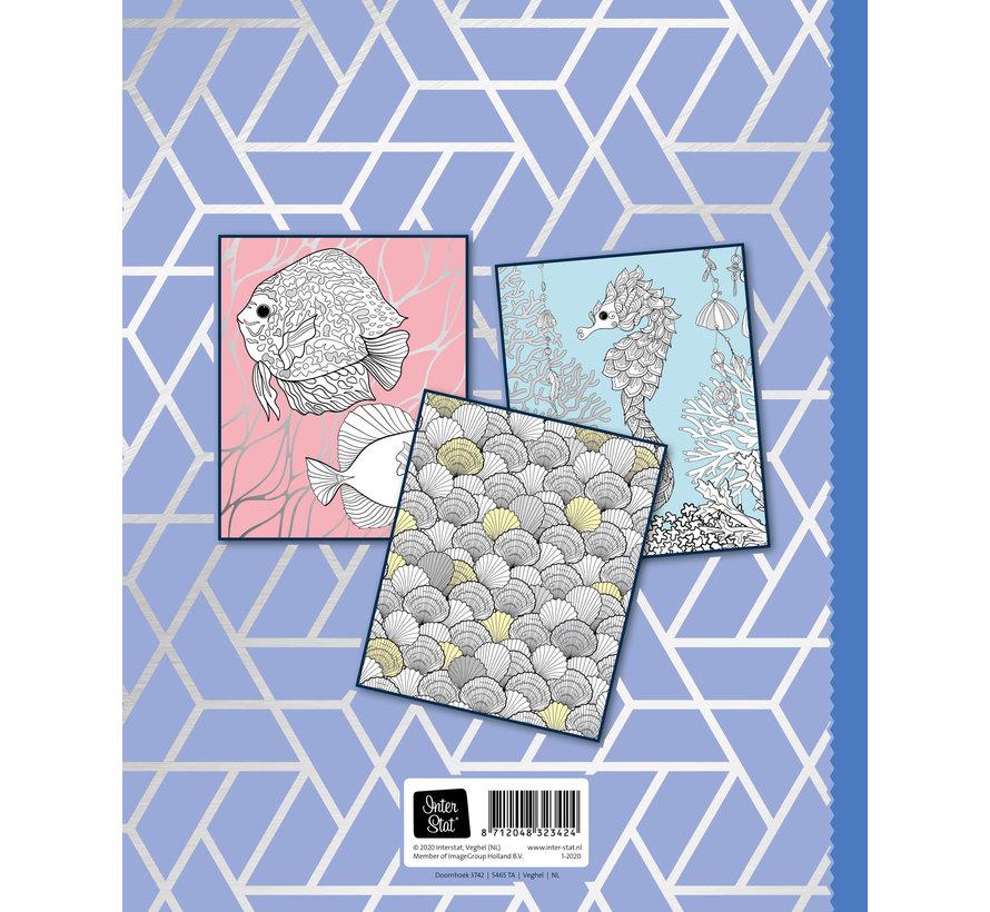 Coral Reef Zilver Kleurboek