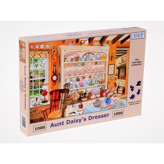 The House of Puzzles Aunt Daisy's Dresser 1000 Puzzle Pieces