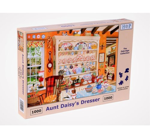 The House of Puzzles Aunt Daisy's Dresser Puzzel 1000 Stukjes