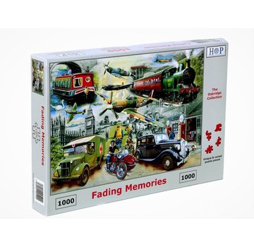 The House of Puzzles Fading Memories Puzzle 1000 Pieces