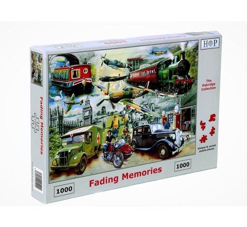 The House of Puzzles Fading Memories Puzzel 1000 Stukjes