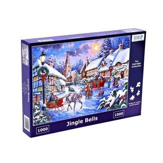 The House of Puzzles Jingle Bells Puzzel 1000 Stukjes