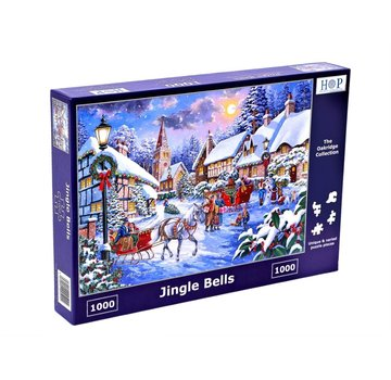 The House of Puzzles Jingle Bells 1000 Puzzle Pieces