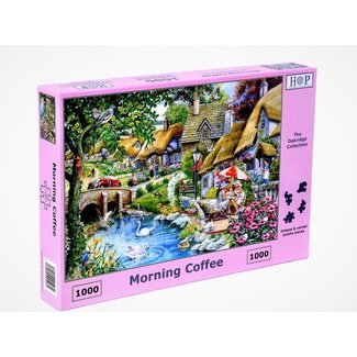 The House of Puzzles Morning Coffee 1000 Puzzleteile