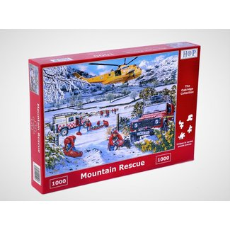 The House of Puzzles Mountain Rescue 1000 Puzzle Pieces