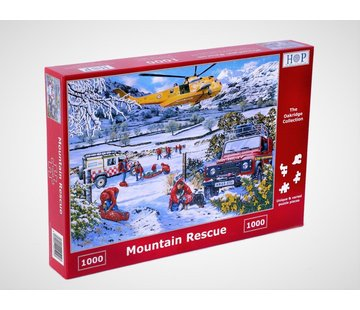 The House of Puzzles Mountain Rescue Puzzel 1000 Stukjes