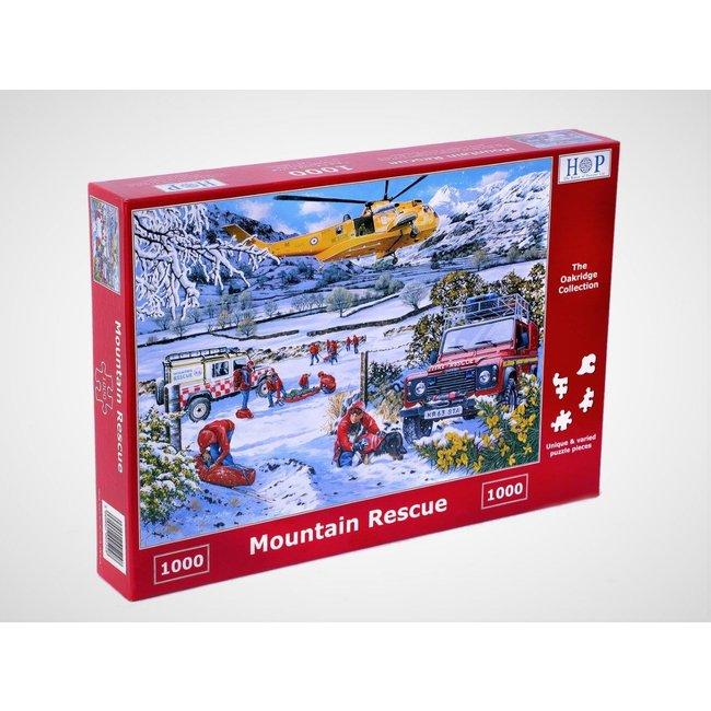 The House of Puzzles Mountain Rescue Puzzel 1000 Stukjes