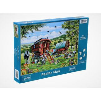 The House of Puzzles Hausierer Man Puzzle 1000 Stück
