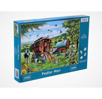 The House of Puzzles Pedlar Man Puzzel 1000 Stukjes