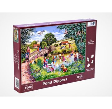 The House of Puzzles Dippers 1000 Pond Puzzle Pieces