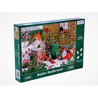 The House of Puzzles Robin Redbreast Puzzel 1000 Stukjes