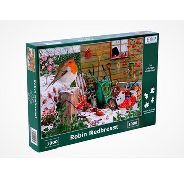 The House of Puzzles Robin Redbreast 1000 Puzzle Pieces