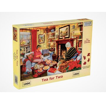 The House of Puzzles Tea for Two 1000 Puzzle Pieces