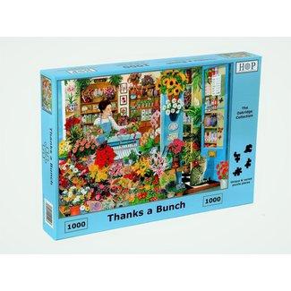 The House of Puzzles Thanks a Bunch Puzzel 1000 Stukjes