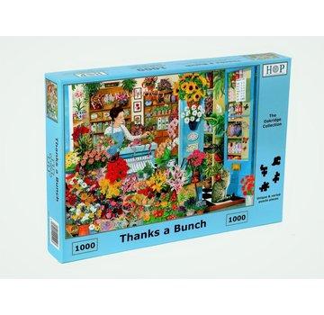 The House of Puzzles Merci Des pièces de puzzle Bunch 1000