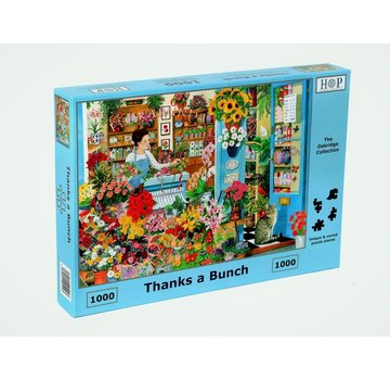 The House of Puzzles Thanks a Bunch Puzzle pieces 1000