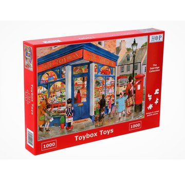 The House of Puzzles Toybox Jouets Puzzle 1000 Pièces