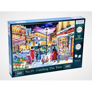 The House of Puzzles No.19 - Catching the Tram Puzzel 1000 Stukjes