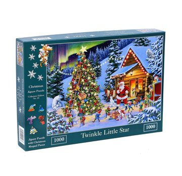The House of Puzzles No.15 - Twinkle Little Star 1000 Stukjes