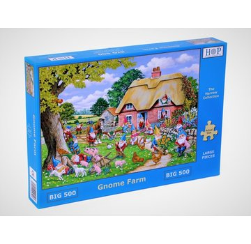 The House of Puzzles Gnome Farm XL 500 Pieces