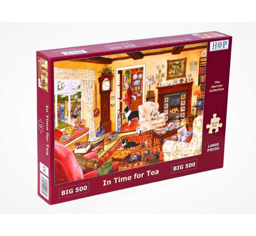 In Time for Tea Puzzel 500 XL Stukjes