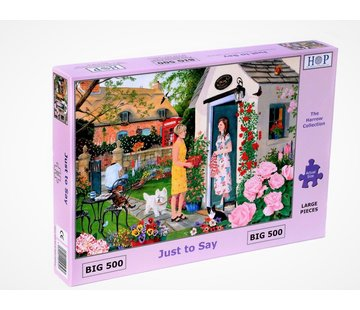 The House of Puzzles Just to Say Puzzel 500 XL Stukjes