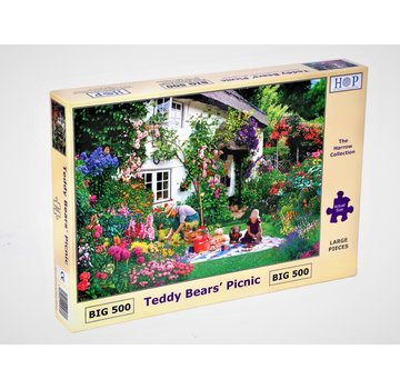 The House of Puzzles Teddy Bears' Picnic Puzzle Pieces XL 500