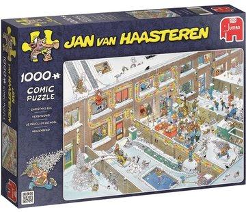 Jumbo Jan van Haasteren – Kerstavond Puzzel 1000 Stukjes