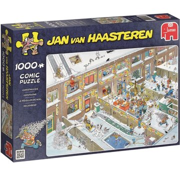Jumbo Jan van Haasteren - Christmas Eve 1000 Puzzle Pieces