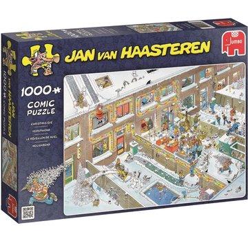 Jumbo Jan van Haasteren - Réveillon de Noël 1000 Puzzle Pieces