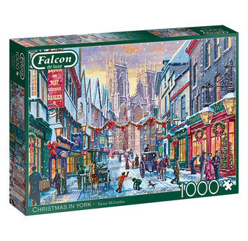 Falcon Christmas 1000 in York Puzzle Pieces