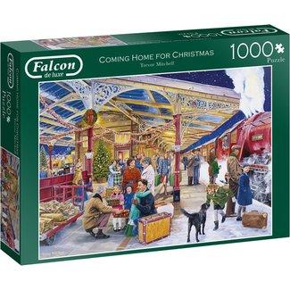Falcon Coming Home für Weihnachten 1000 Puzzleteile