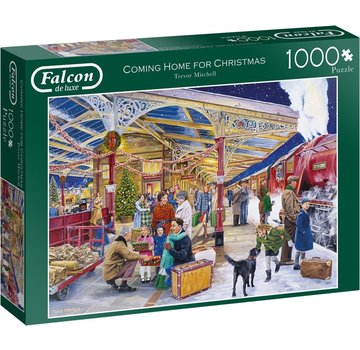Falcon Coming Home for Christmas Puzzel 1000 Stukjes