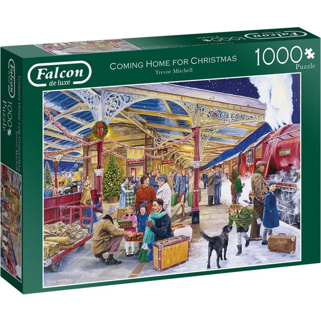 Falcon Coming Home for Christmas Puzzel 1000 Stukjes