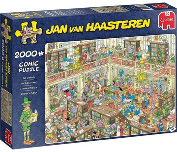 Jumbo Jan van Haasteren – De Bibliotheek Puzzel 2000 Stukjes