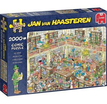 Jumbo Jan van Haasteren - Bibliothek 2000 Puzzle Pieces