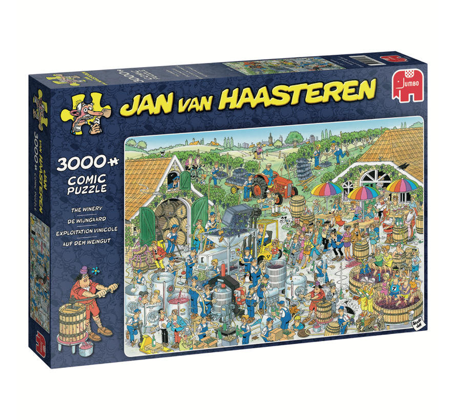 Jan van Haasteren – De Wijngaard Puzzel 3000 Stukjes