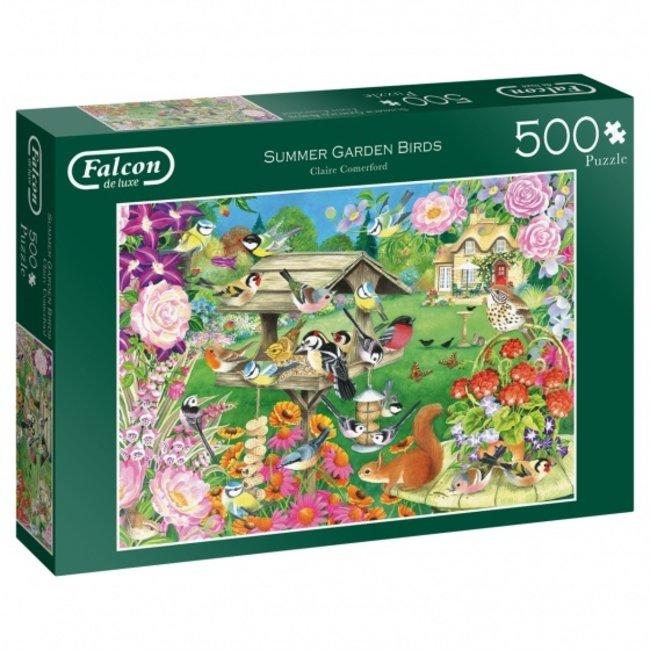 Falcon Summer Garden Birds Puzzle 500 Stück