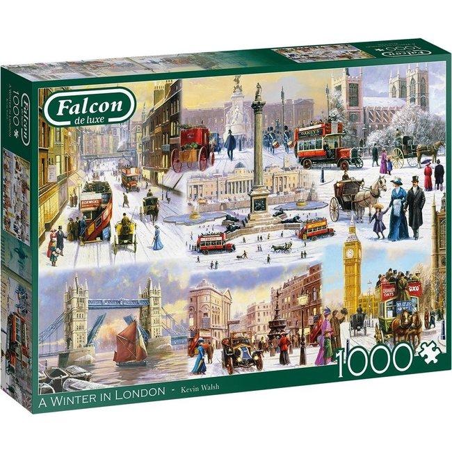 Falcon A Winter in London Puzzel 1000 Stukjes
